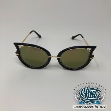 Очки солнцезащитные с фигурной оправой