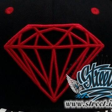 Кепка DIAMOND кожаный козырек