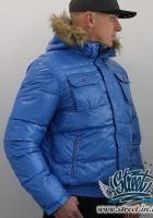 Куртка зимняя с капюшоном с мехом RED BRIDGE