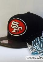 NFL, SAN FRANCISCO кожаный козырек